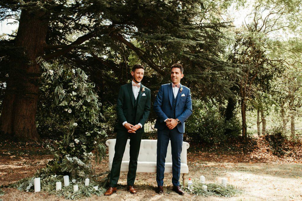 UTOPICLOVERS20200822 – MARIAGE JosGau 29763 1 1024x683 - Le mariage de Joseph et Gautier au château des Ravatys.