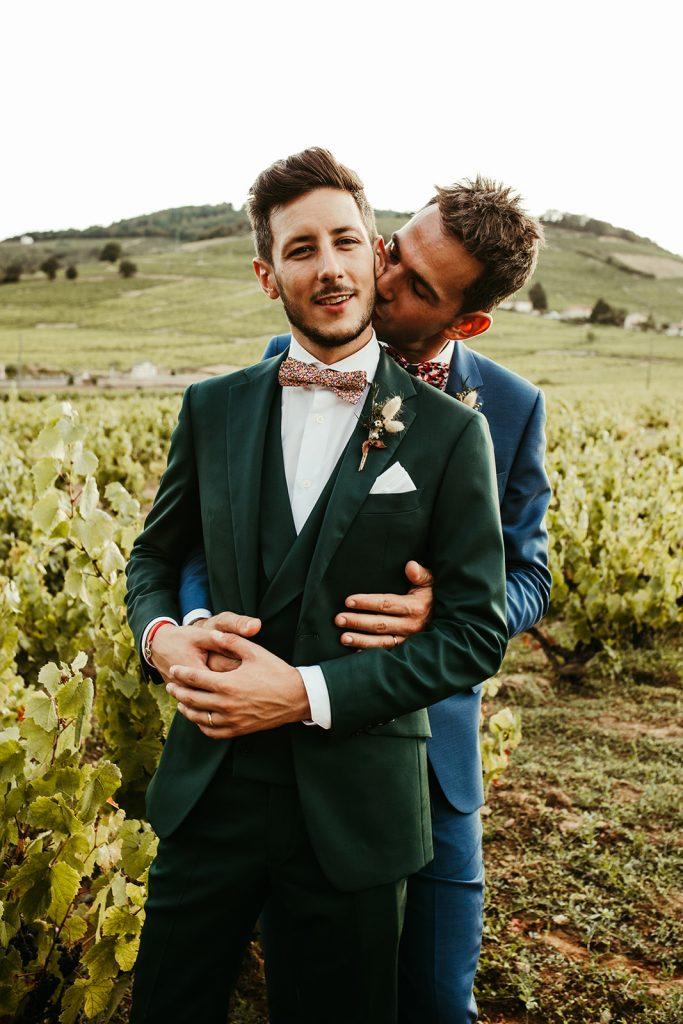 UTOPICLOVERS20200822 – MARIAGE JosGau 31078 1 683x1024 - Le mariage de Joseph et Gautier au château des Ravatys.